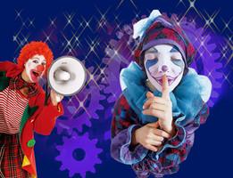 《玩具王国―美丽小丑》